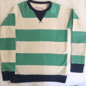 Johnnie b 💯% Cotton Striped Sweatshirt